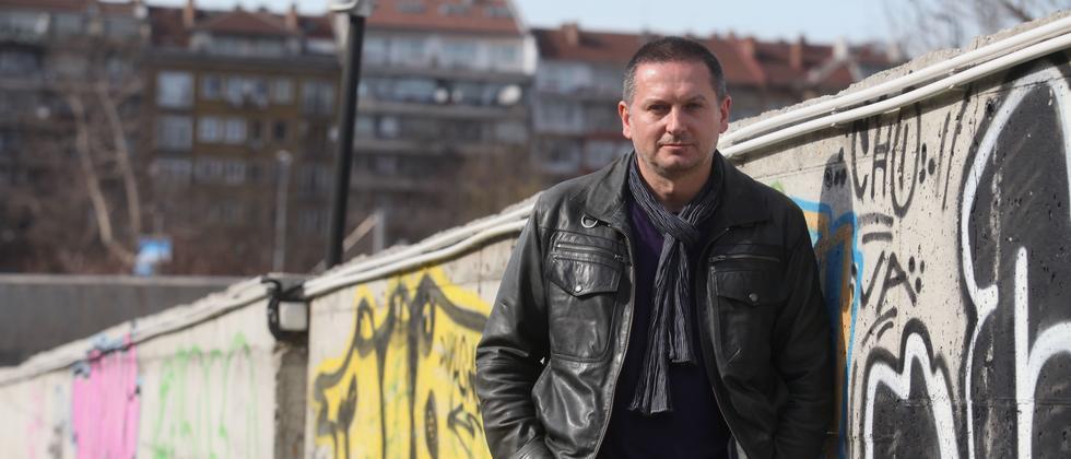 Der bulgarische Schriftsteller Georgi Gospodinov