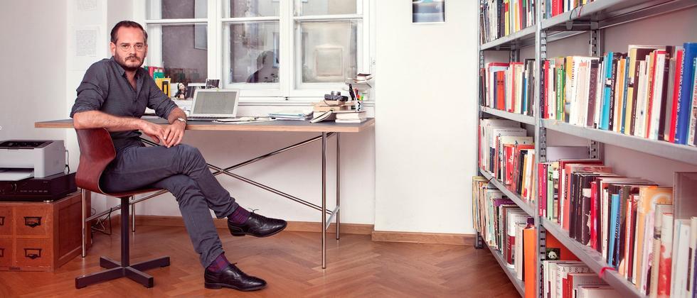 Schriftsteller Jonas Lüscher