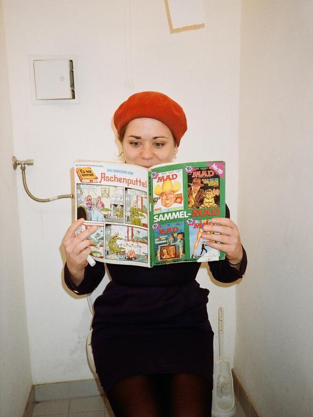 Die Autorin Stefanie Sargnagel