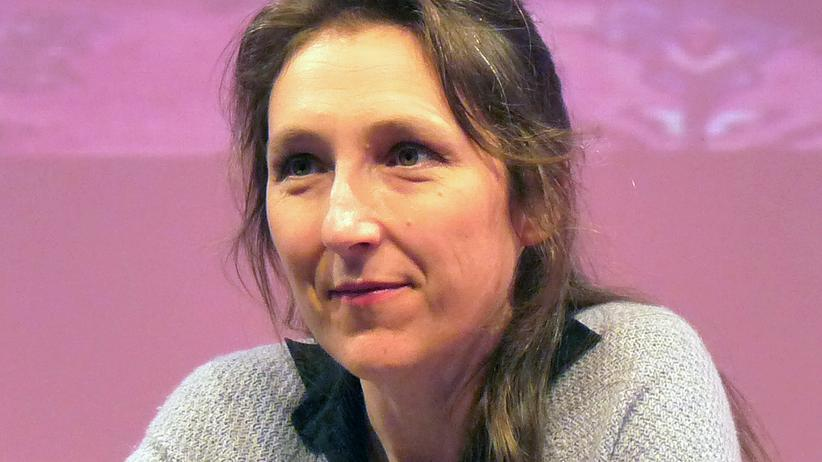 Die Schriftstellerin Marie Darrieussecq