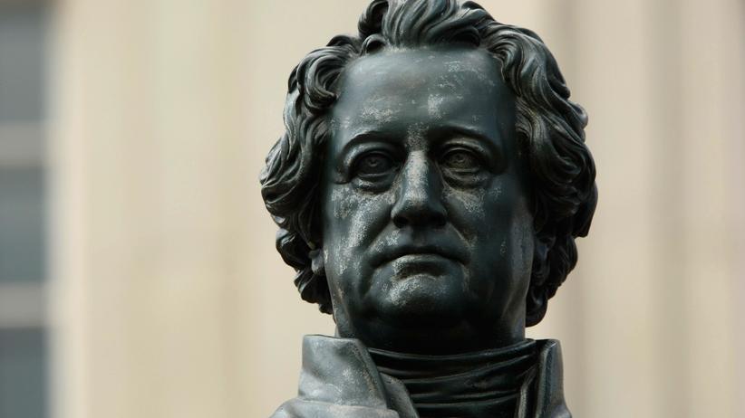Johann Wolfgang von Goethe: Die Statue von Goethe in Weimar