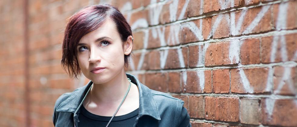 Die Feministin und Autorin Laurie Penny