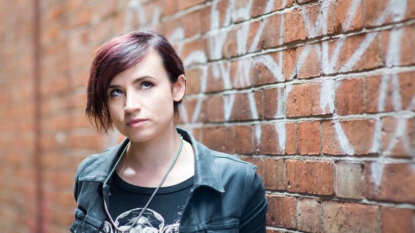 Laurie Penny: Die britische Feministin und Autorin Laurie Penny