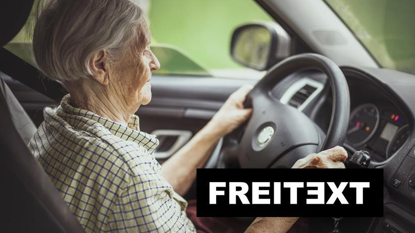 Autofahren : Halb taub? Ich sehe noch gut!