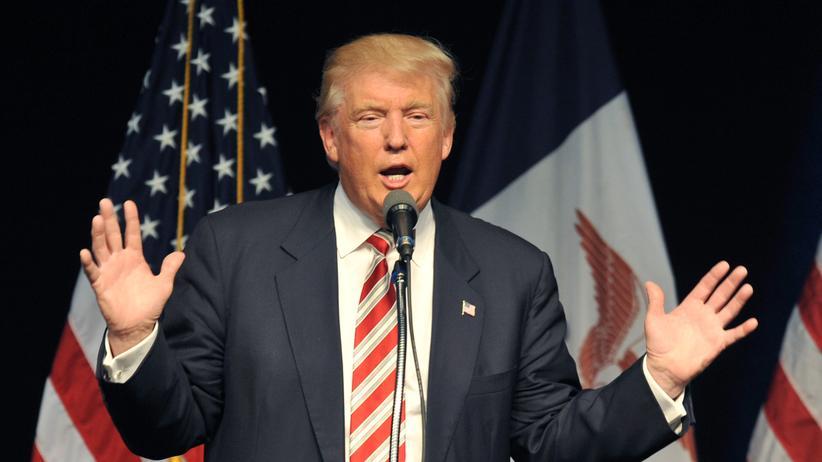 Donald Trump: Donald Trump, Unternehmer und Präsidentschaftskanditat der Republikaner