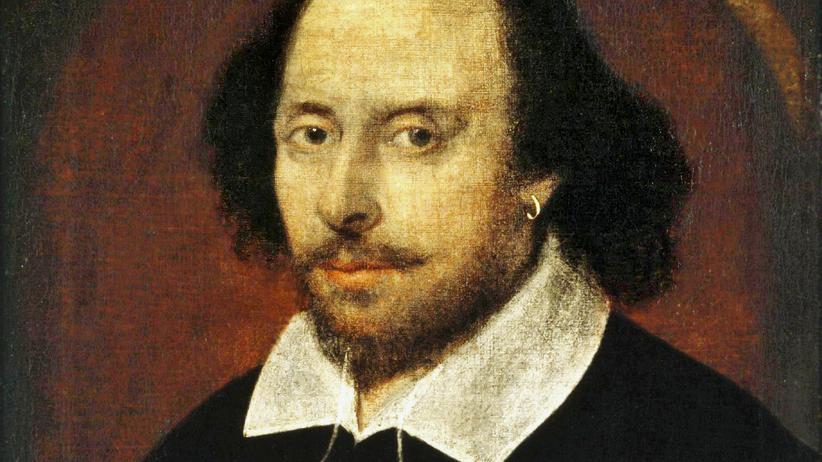 """Literatur-Empfehlungen: Es galt lange als das einzige erhaltene Abbild von William Shakespeare, das sogenannte """"Chandos""""-Porträt, um 1600"""