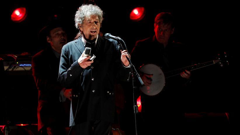 Literaturnobelpreis: Der Literaturnobelpreisträger Bob Dylan