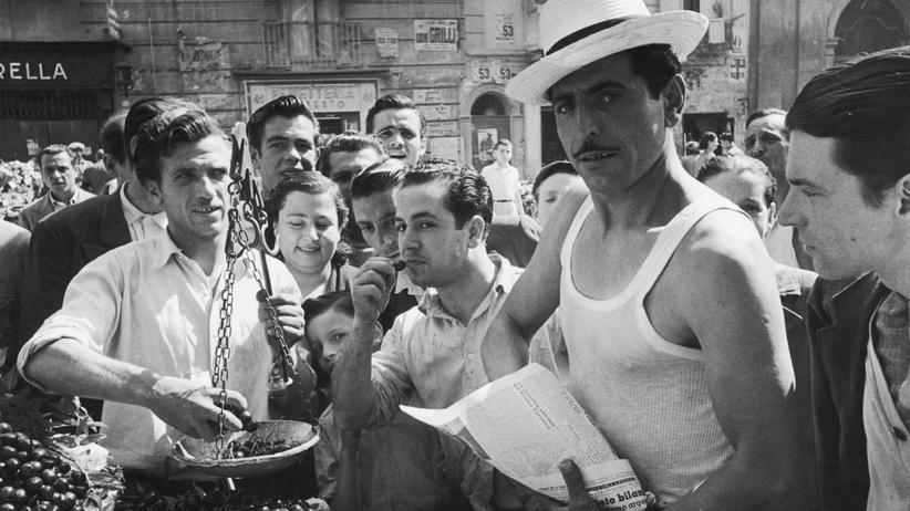 Elena Ferrante: Der Markt von Neapel in den 1950er Jahren