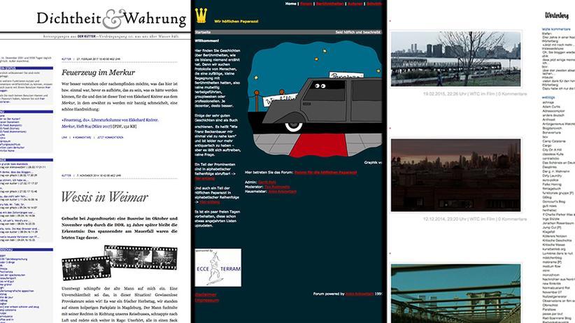 Literaturblogs: Lesen in der Waybackmachine