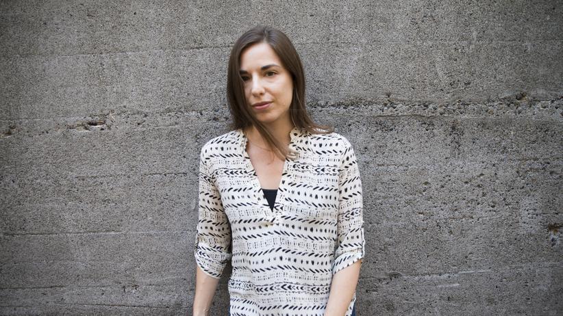 """""""Im Schatten des Krieges"""": Wollte sich lange Zeit aus politischen Angelegenheiten raushalten: die US-amerikanische Comicjournalistin Sarah Glidden."""