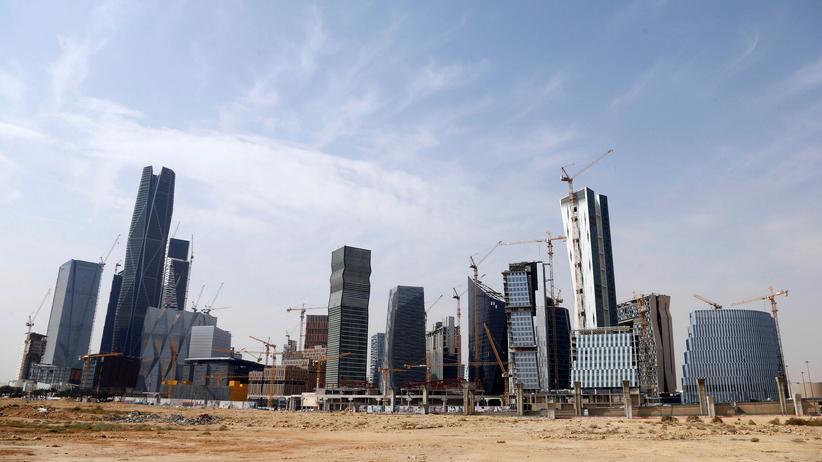 Sebastian Sons: Der King Abdullah-Finanzdistrikt nördlich von Riad