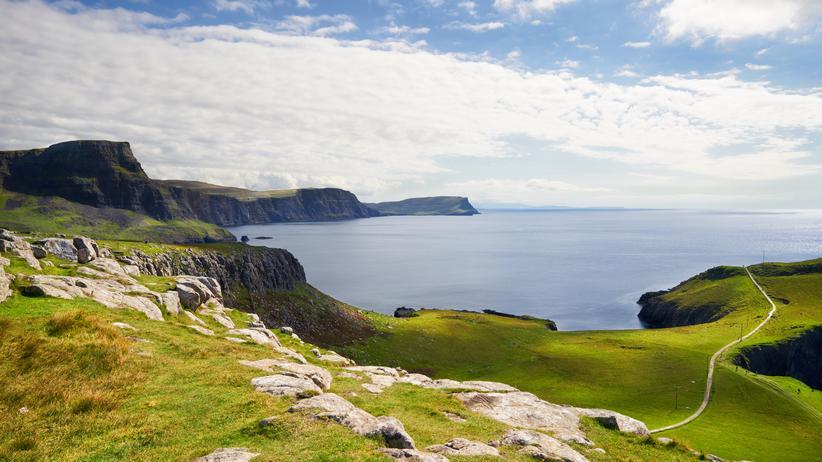 Dan Diner: Highland-Panorama auf der schottischen Insel Isle of Sk