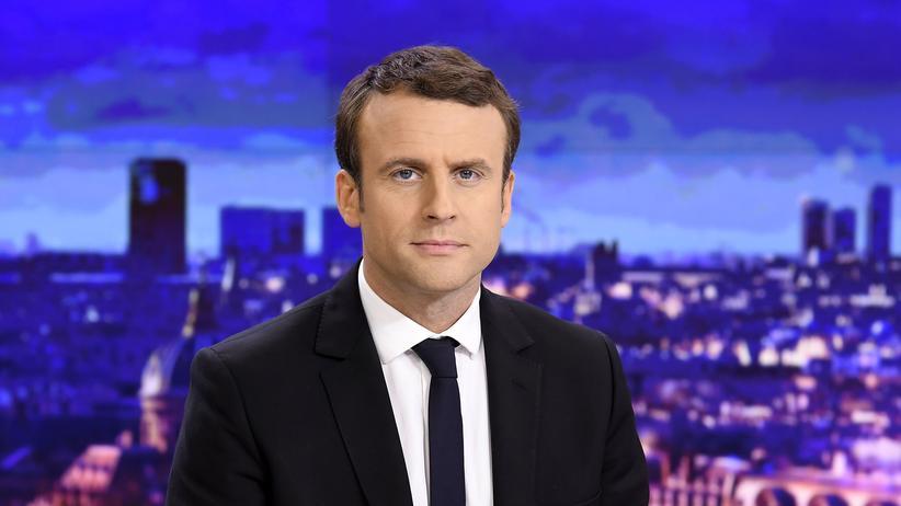 """""""Revolution"""": Der französische Präsidentschaftskandidat Emmanuel Macron"""