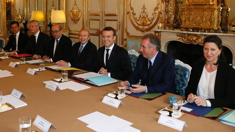 Frankreich: Bunte Seiten im Élysée