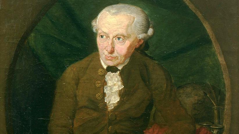 Immanuel Kant: Immanuel Kant auf einem Gemälde von Gottlieb Döbler, 1791