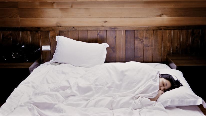 Schlaf: Der Schlaf, ein großes Glück.