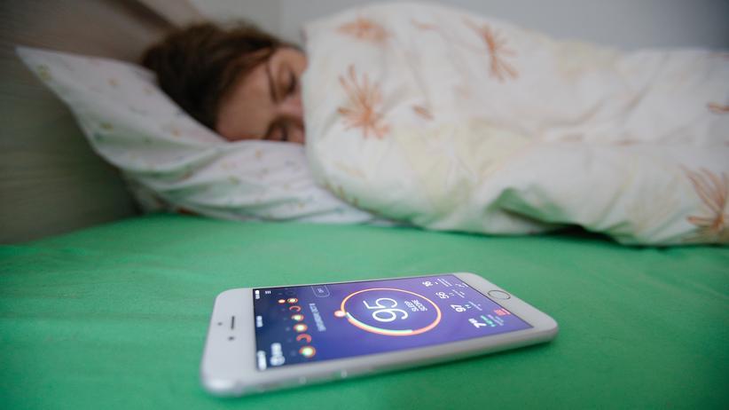 """""""Das metrische Wir"""": Schlafen am besten nur noch optimiert, das erhöht den """"Health Score""""."""