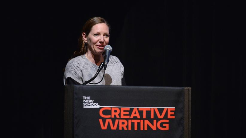 Maggie Nelson: Maggie Nelson 2016 auf dem National Book Critics Circle Award in New York