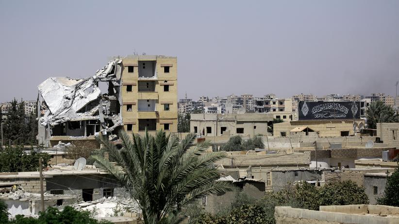 """""""Jenseits"""": Die syrische IS-Hochburg Rakka"""