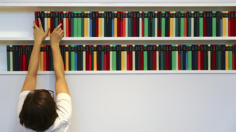 Leseempfehlungen: Schnell kann man auf der Buchmesse den Überblick verlieren.