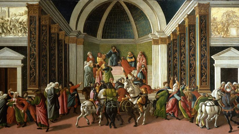 Virginia Botticelli gemaelde