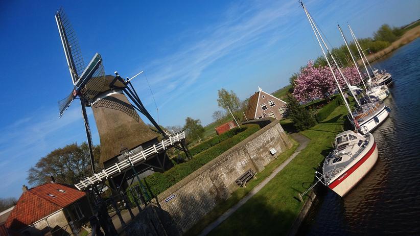 Die Mühle von Sloten: Überrascht, verwirrt und beglückt