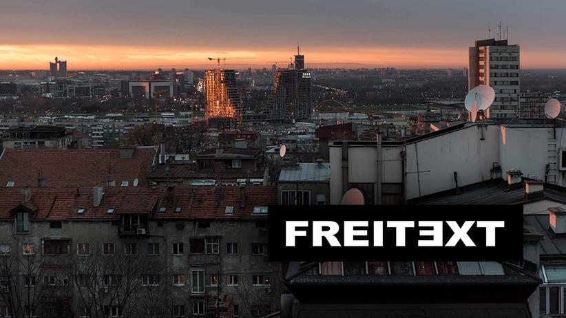 Belgrad: Eine fünf Zentimeter breite Aura