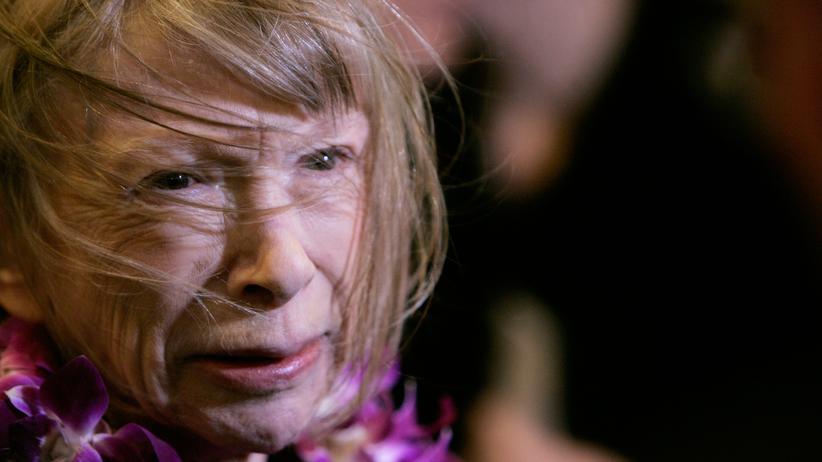 Joan Didion: Die amerikanische Schriftstellerin und Journalistin Joan Didion