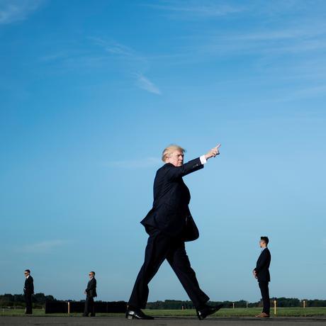 Populismus: Donald Trump in der Begegnungszone