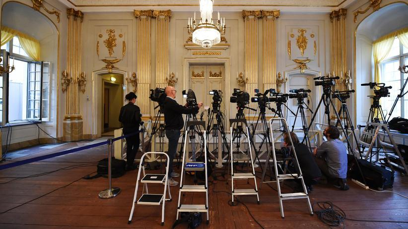 Literaturnobelpreis: In diesem Jahr keine Kameras, keine Journalisten: Die Schwedische Akademie setzt den Nobelpreis 2018 aus.