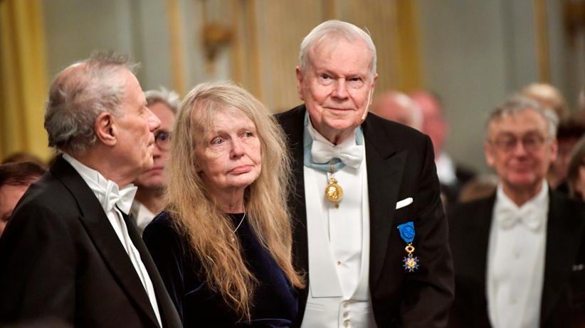 Schwedische Akademie: Einige Mitglieder der Schwedischen Akademie beim letzten Jahrestreffen