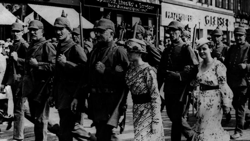"""""""Auf Messers Schneide"""": Deutsche Soldaten im Jahr 1914"""