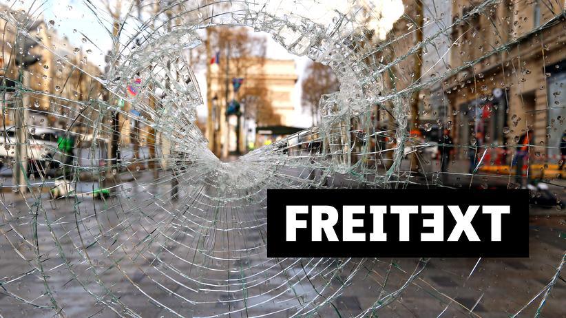 Gelbwesten-Proteste : Wie eine Haustür ohne Schlüsselcode