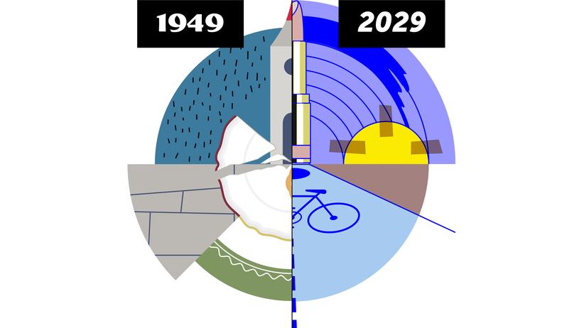 70 Jahre Bundesrepublik: Morgens um 10 in Deutschland