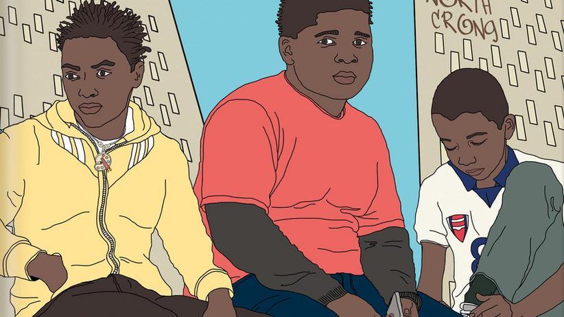 """Alex Wheatle: Alex Wheatles Buch """"Die Ritter von Crongton"""" spielt in einem Stadtteil, in dem viele Einwandererfamilien in Armut leben – das Problemviertel einer größeren, namenlosen Stadt."""
