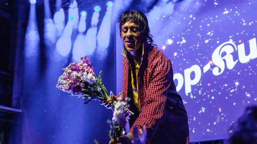 Pop-Kultur-Festival: Mykki Blanko in Aktion