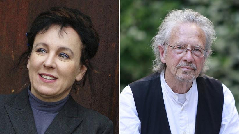 Literaturnobelpreise: Olga Tokarczuk und Peter Handke ausgezeichnet