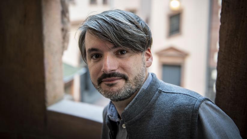 Saša Stanišič bei der Verleihung des Deutschen Buchpreises im Frankfurter Römer