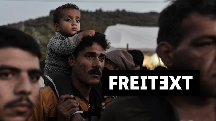 Lesbos: Menschen, die Lesbos verlassen wollen