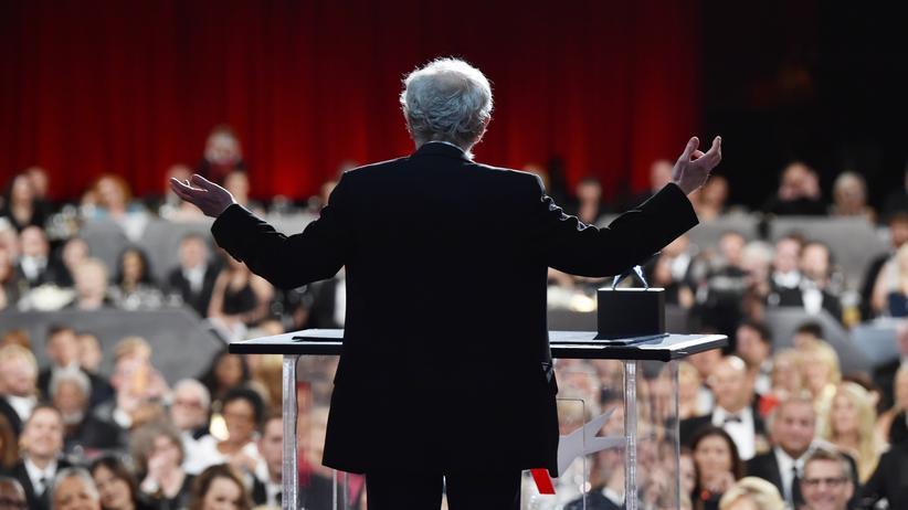 Umstrittene Veröffentlichung: Umstrittener Regisseur: Woody Allen während einer Preisverleihung in Hollywood (Kalifornien)