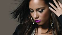 R'n'B von Alicia Keys: Bunt glasierter Krapfen