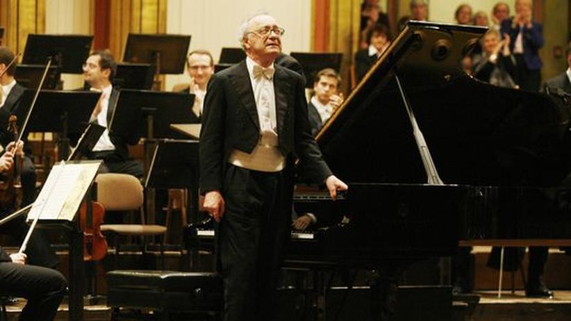 Alfred Brendel: Der Pianist Alfred Brendel bei seinem Abschiedskonzert 2008 im Wiener Musikverein