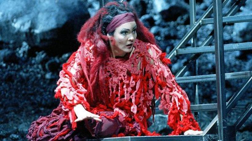 """Oper """"Medea"""" in Wien: Marlis Petersen als Medea"""
