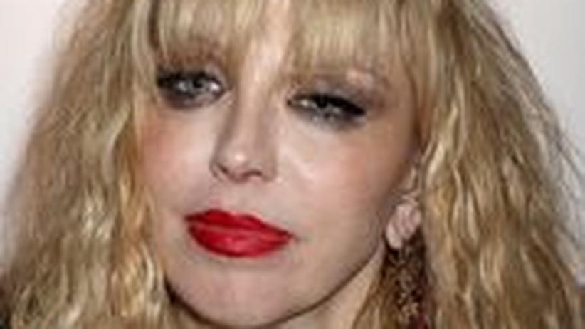 Promi-Rock: Für sie ist immer ein Platz in der Arena: Courtney Love in London, 2010