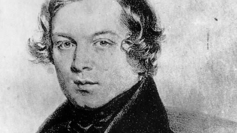 200 Jahre Robert Schumann: Der Komponist Robert Schumann, vermutlich im Jahr 1840