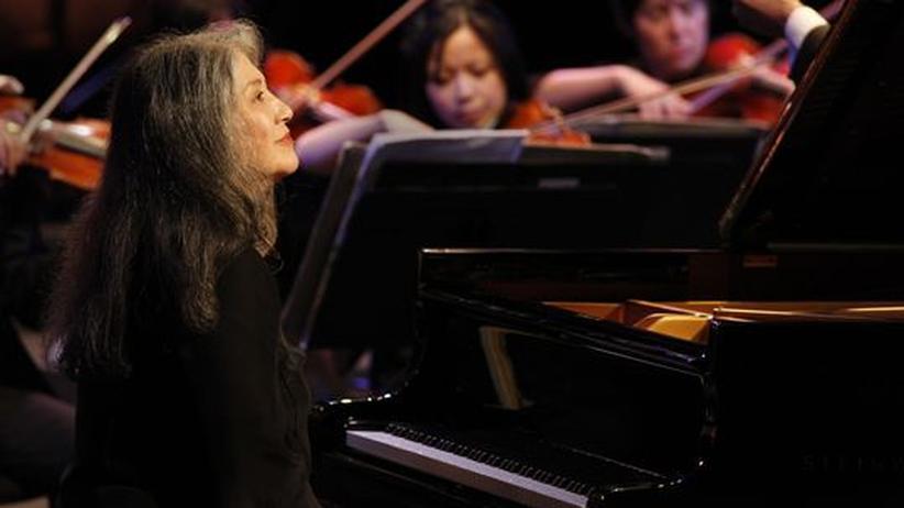 Pianistin Martha Argerich: Die 69-jährige Martha Argerich beim Verbier Festival 2010