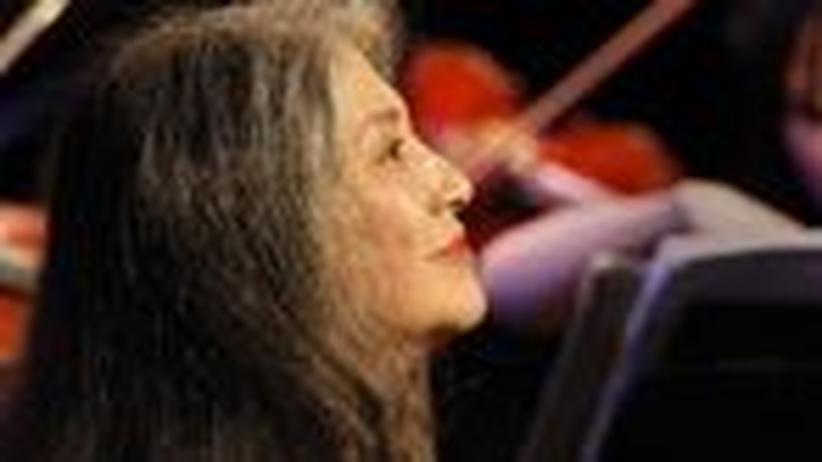 """Pianistin Martha Argerich: """"Ich spreche ungern über Musik"""""""