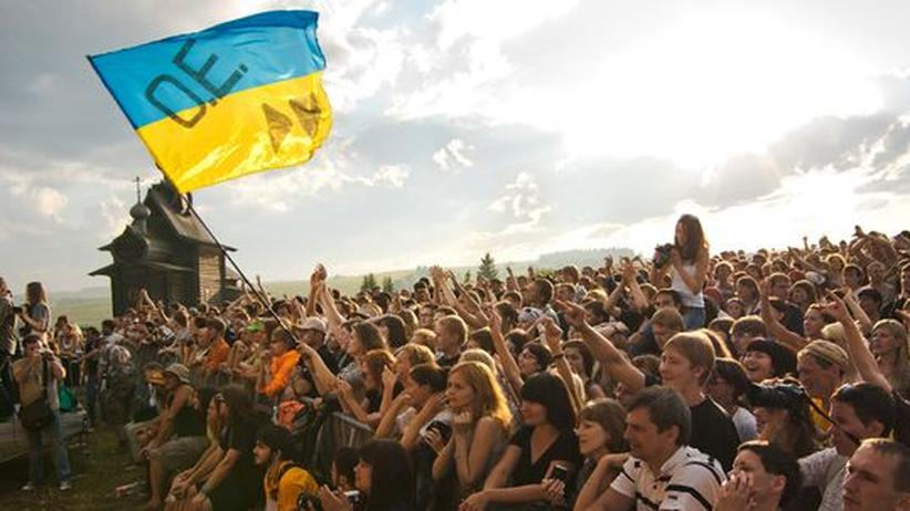Russisches Popfestival: Alternativkultur auf dem russischen Land: Das Dvizhenie-Festival bringt immerhin mehrere Tausend Leute zusammen
