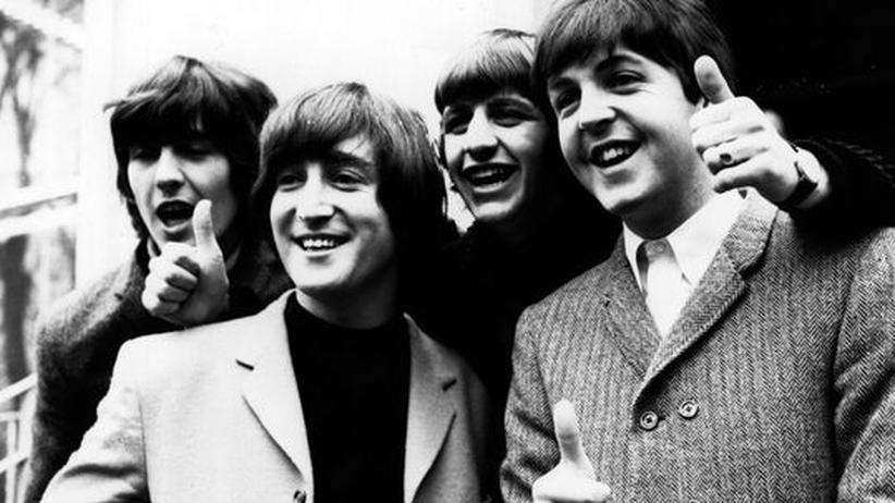 50 Jahre Beatles: Auf dem Scheitelpunkt ihrer Karriere: George Harrison, John Lennon, Ringo Starr und Paul McCartney 1965 in London