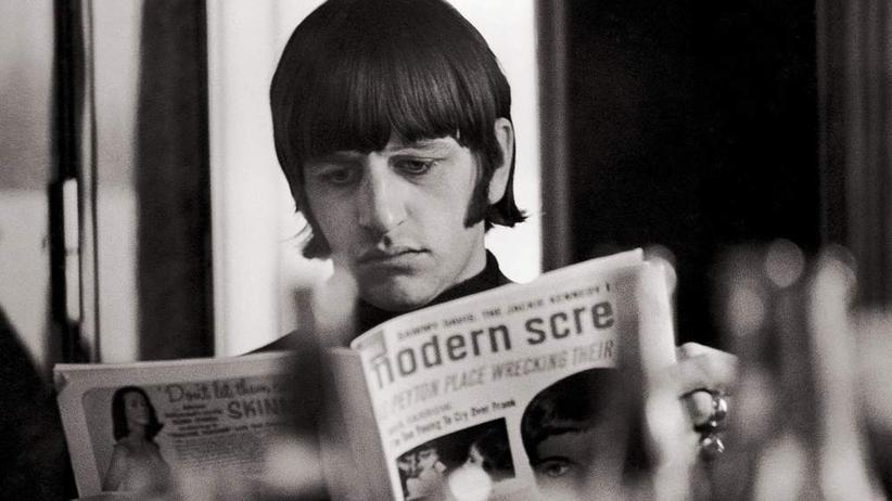 Fotostrecke: Leben in den Garderoben der Beatles
